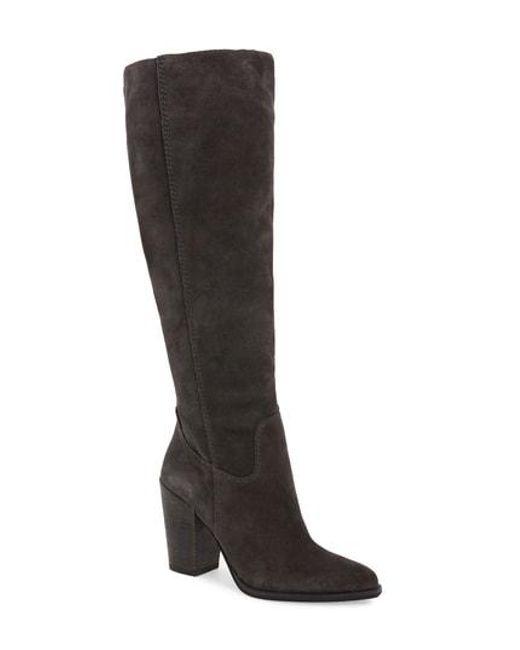 150f01ca2a3 Lyst - Dolce Vita Kylar Knee High Boot in Black