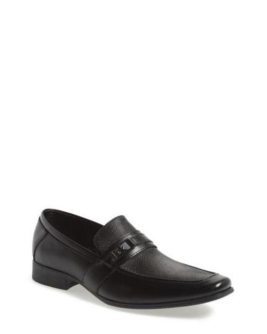 Calvin Klein   Black 'bartley' Bit Loafer for Men   Lyst