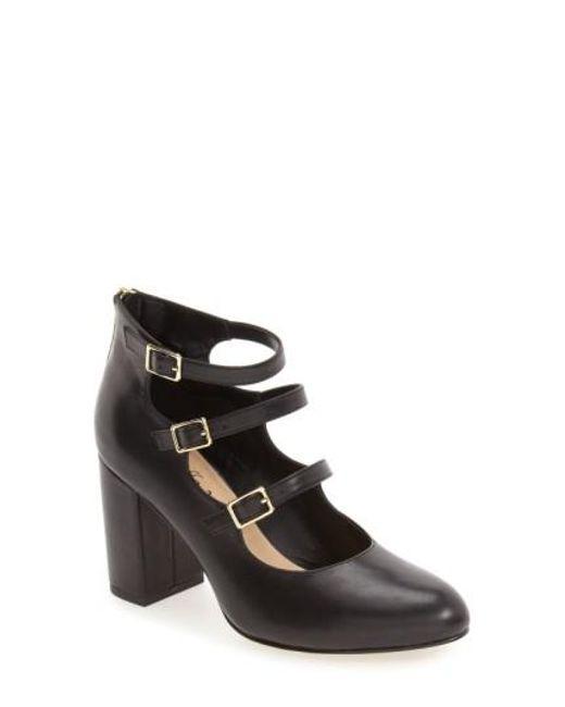 Bella Vita | Black 'nettie' Block Heel Pump | Lyst