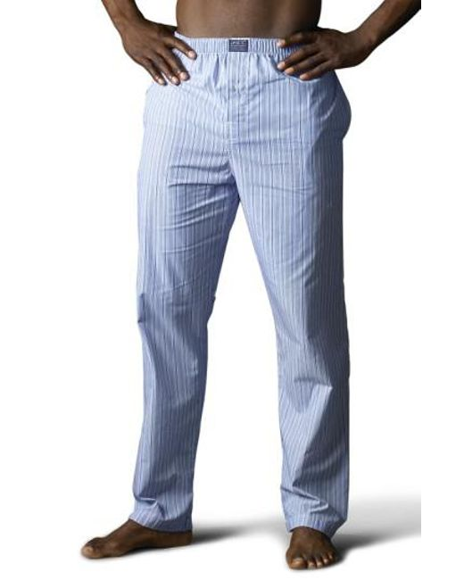 Polo Ralph Lauren - Blue Pajama Pants for Men - Lyst