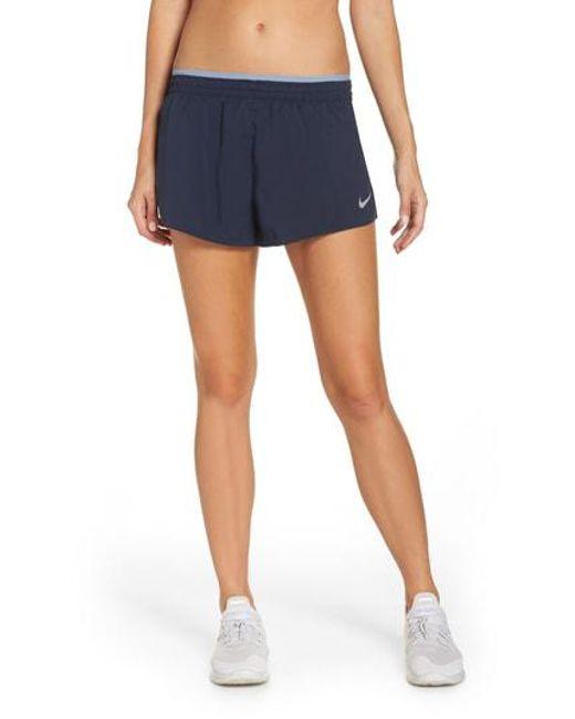 149d426b7ed4 Lyst - Nike Flex Running Shorts in Blue