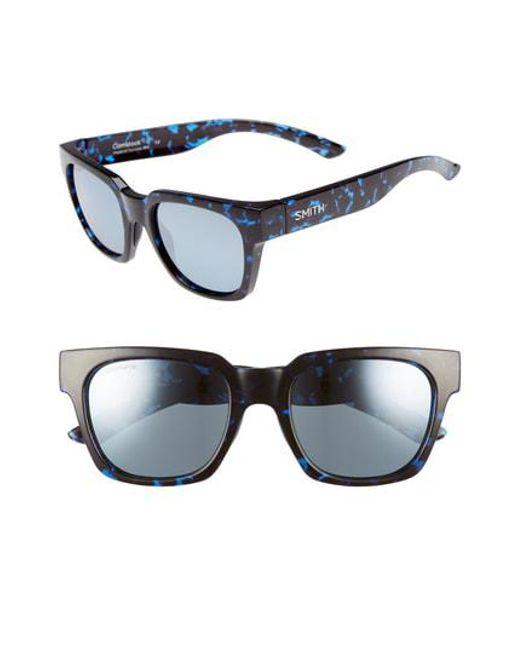 3acf9ed2b6 Smith - Multicolor  comstock  52mm Rectangular Sunglasses - - Lyst