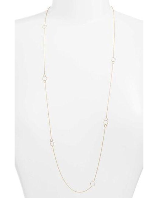 Bony Levy | Multicolor Long Link Necklace (nordstrom Exclusive) | Lyst