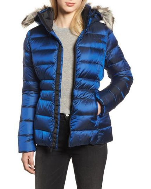 Lyst The North Face Gotham Ii Hooded Water Resistant 550