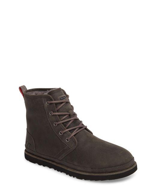 Ugg - Brown Ugg Harkley Plain Toe Waterproof Waterproof Boot for Men - Lyst
