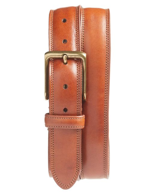 Bosca - Multicolor The Jefferson Leather Belt for Men - Lyst