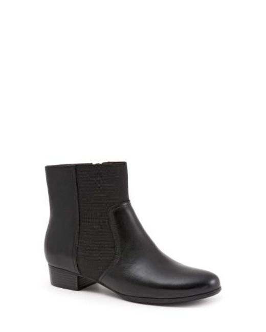 Trotters | Black Monte Bootie | Lyst