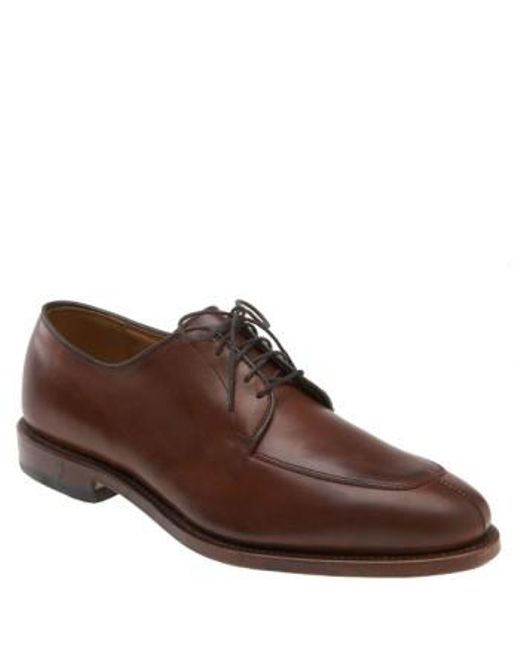 Allen Edmonds | Red Delray Split Toe Derby for Men | Lyst