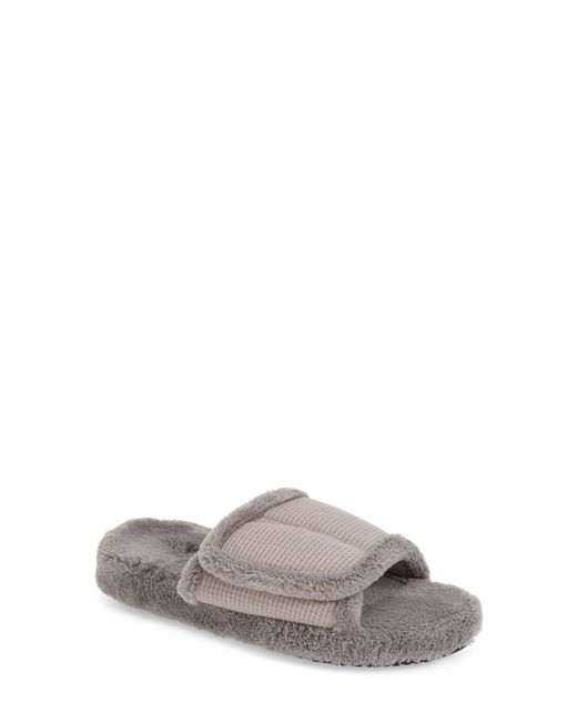 Acorn - Natural 'waffle Spa Slide' Slipper - Lyst