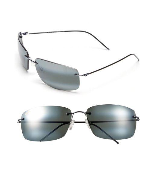 Maui Jim - Gray Frigate Polarizedplus2 65mm Sunglasses - Gunmetal Blue/ Neutral Grey for Men - Lyst