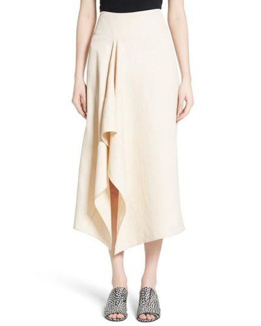 Zero + Maria Cornejo | Natural Eros Vintage Toile Skirt | Lyst