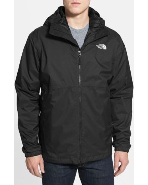 The North Face   Black 'all About' Triclimate Waterproof Hooded 3-in-1 Hyvent Jacket for Men   Lyst