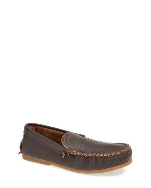 Minnetonka | Brown Venetian Loafer for Men | Lyst