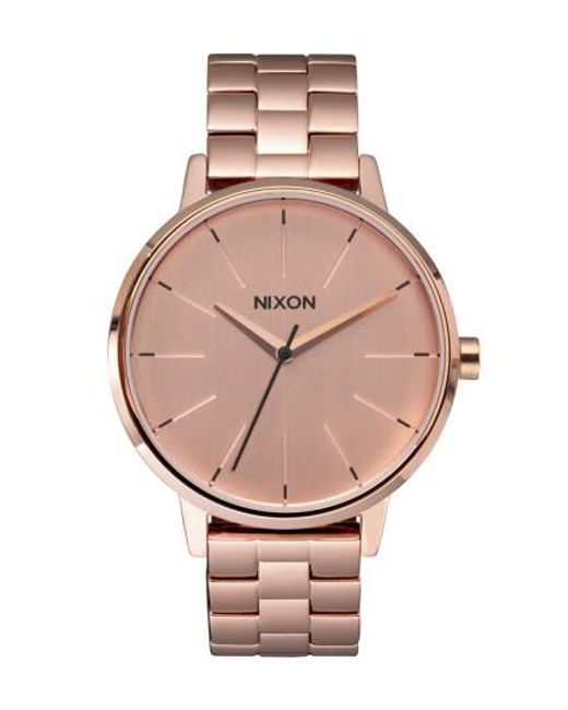 Nixon | Metallic 'the Kensington' Round Bracelet Watch | Lyst