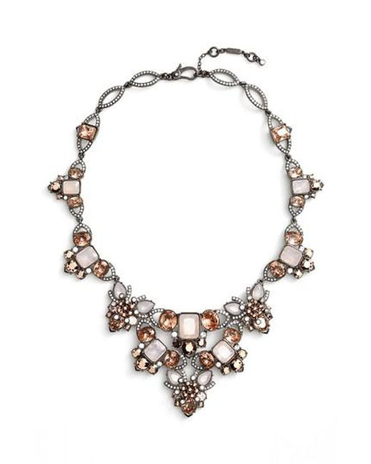 Jenny Packham | Metallic Crystal Drama Collar Necklace | Lyst