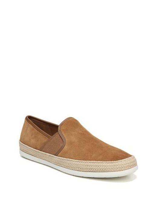 Vince - Brown Chad Espadrille Slip-on Sneaker for Men - Lyst