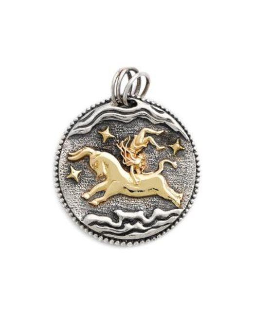 Konstantino | Metallic Zodiac Pendant | Lyst