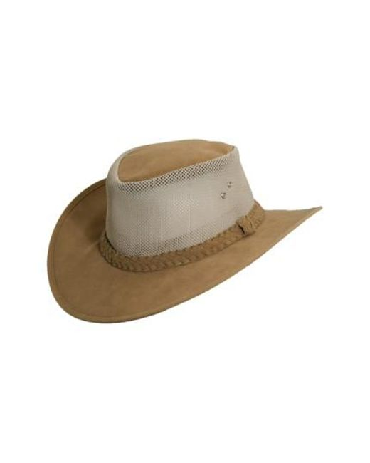 Dorfman Pacific - Brown Soaker Hat for Men - Lyst