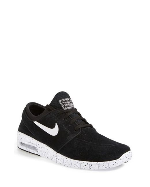Nike | Black 'Stefan Janoski Max' Skate Sneaker (Men) for Men | Lyst