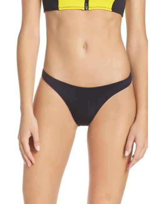 Body Glove | Black Straight Up Bikini Bottoms | Lyst