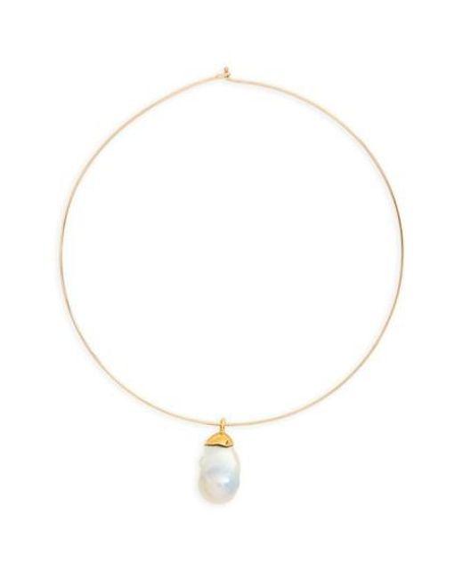 Lizzie Fortunato - Metallic Best Lady Charm Necklace - Lyst