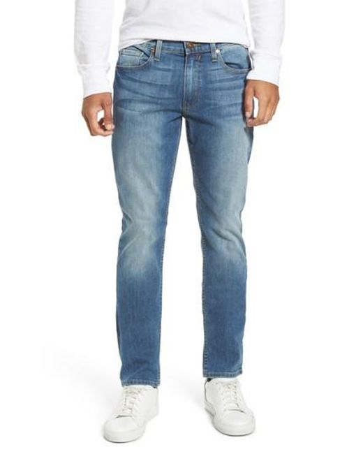 PAIGE - Blue Legacy - Lennox Slim Fit Jeans for Men - Lyst