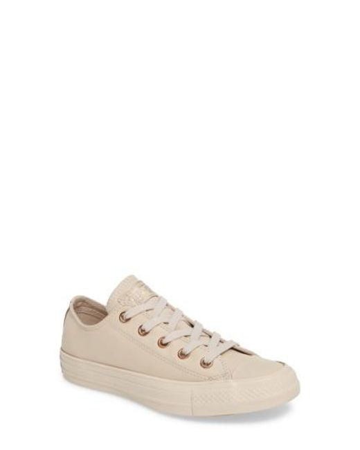 Converse | Natural Chuck Taylor All Star Low Sneaker | Lyst