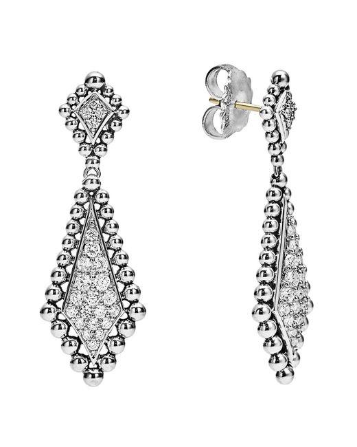Lagos - Multicolor Caviar Spark Diamond Drop Earrings - Lyst
