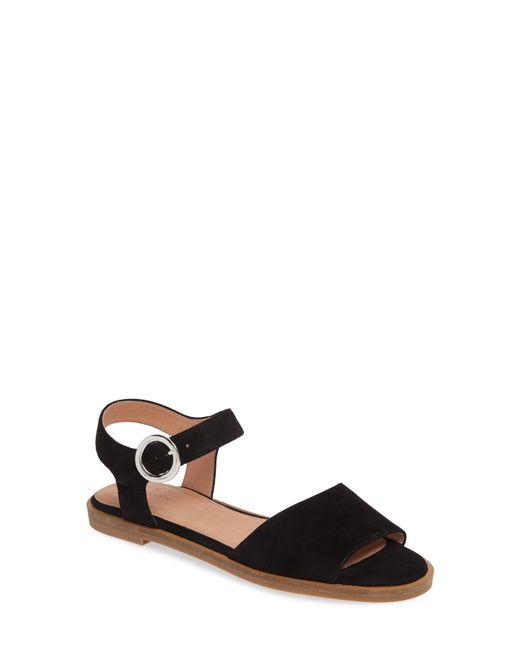 99652ba4b28 Women's Black Caslon Maddie Flat Sandal