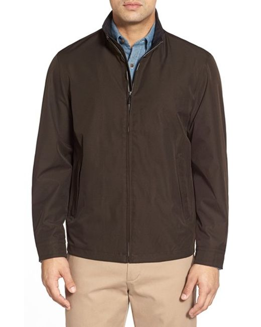 Rainforest | Brown Waterproof & Windproof Bomber for Men | Lyst