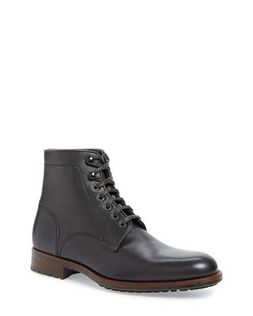 Saks Fifth Avenue   Brown 'marcelo' Plain Toe Boot for Men   Lyst