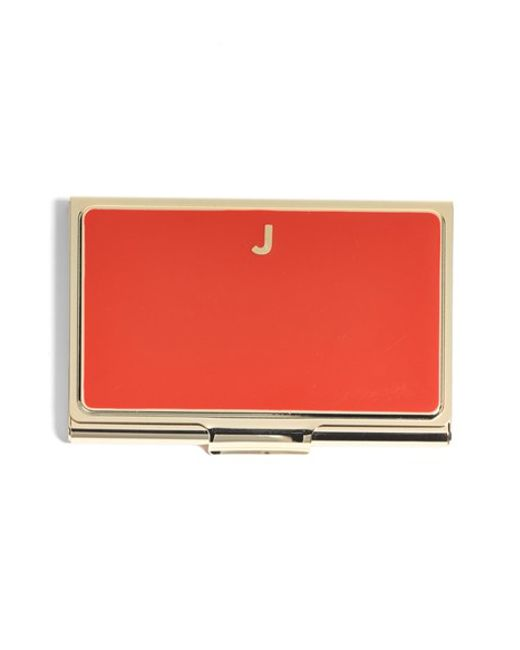 Kate Spade | Red 'one In A Million' Business Card Holder | Lyst