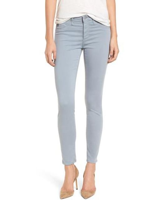AG Jeans - Blue The Legging Ankle Jeans - Lyst