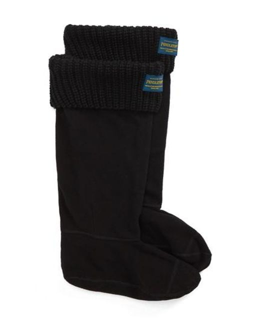 PENDLETON BOOT - Black Pendleton Shaker Stitch Tall Boot Socks - Lyst