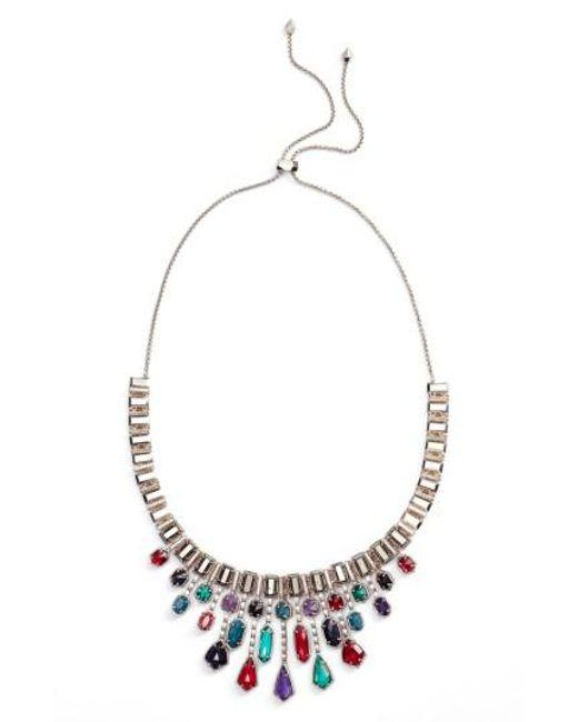Kendra Scott   Metallic Bette Bib Necklace   Lyst