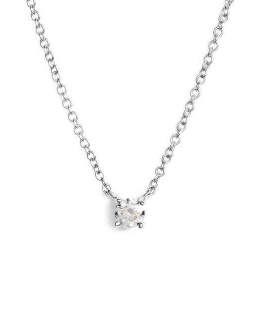 Bony Levy - Metallic Liora Diamond Solitaire Pendant Necklace (nordstrom Exclusive) - Lyst