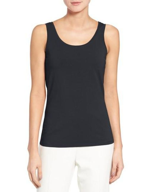 NIC+ZOE - Black 'perfect' Tank - Lyst