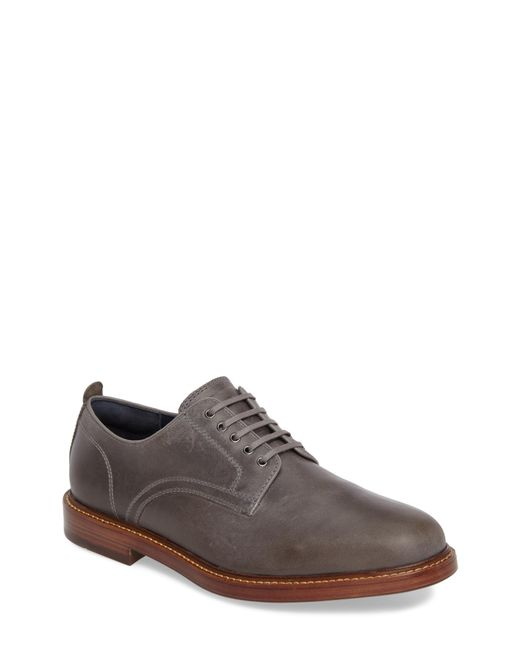 Cole Haan - Gray Tyler Grand Plain-toe Derby for Men - Lyst