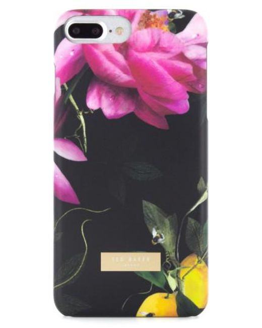Ted Baker | Black Citrus Bloom Iphone 7 Case | Lyst