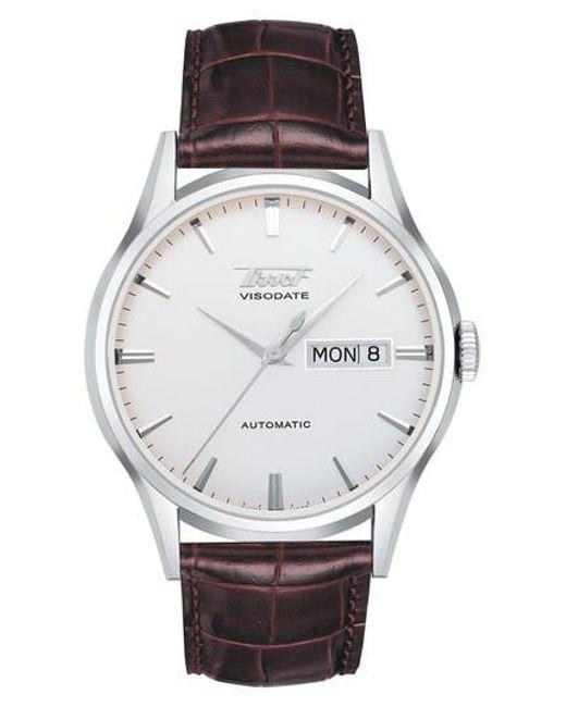 Tissot - Metallic Heritage Visodate Automatic Watch for Men - Lyst