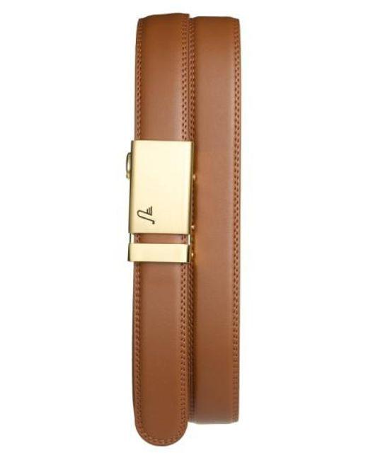 Mission Belt | Natural 'twentyfour' Leather Belt | Lyst