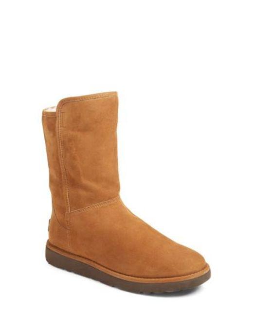 Ugg - Brown Ugg Abree Ii Short Boot - Lyst