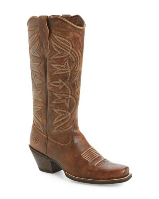 Ariat | Brown Sheridan Western Boot | Lyst