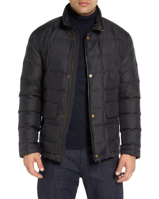 Cole Haan Black Box Quilted Jacket for men