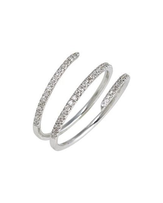 Bony Levy | Metallic Diamond Spiral Ring (nordstrom Exclusive) | Lyst