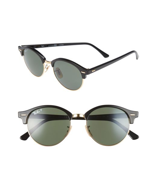 Ray-Ban - Multicolor Clubround 51mm Polarized Sunglasses - for Men - Lyst