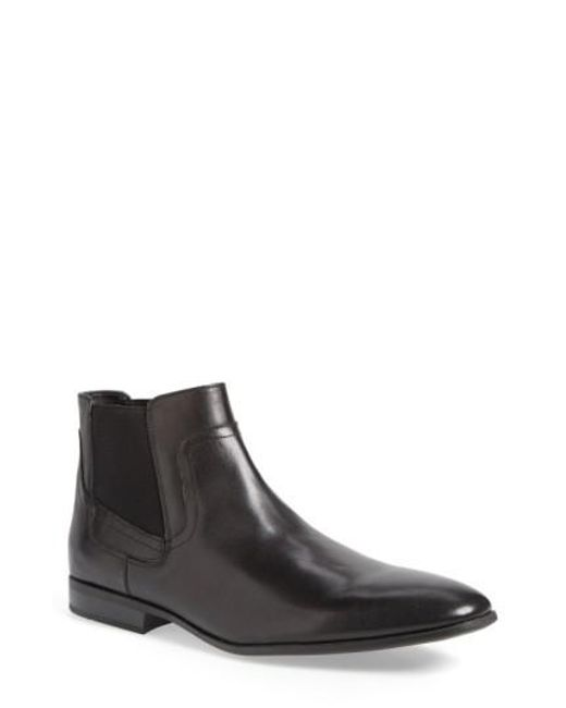 Calvin Klein | Black 'clarke' Chelsea Boot for Men | Lyst