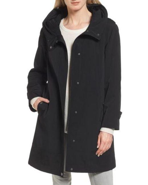 Gallery | Black A-line Raincoat | Lyst