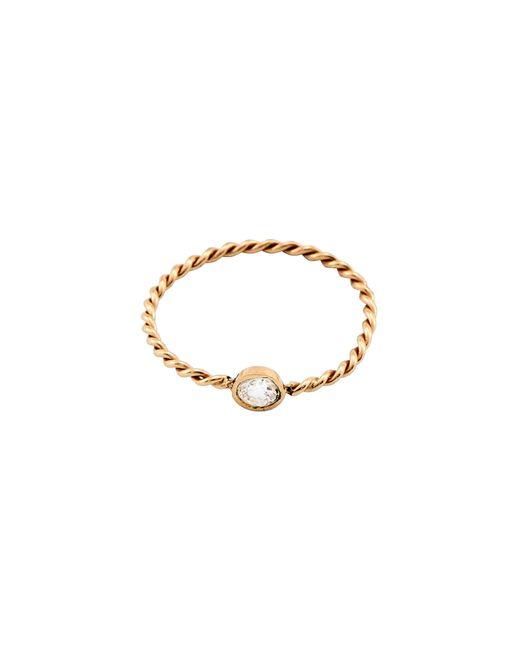 Loren Stewart - Metallic Diamond Gold Rope Ring - Lyst