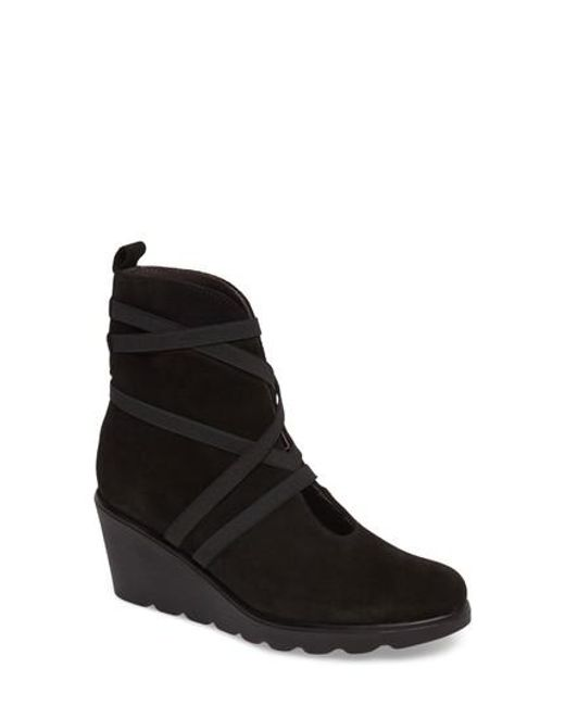 Toni Pons | Black Blanca Wedge Boot | Lyst